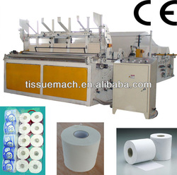 High Speed Automatic Embossing Rewinding Toilet Tissue Paper Making Machine