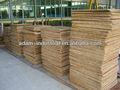 pálete de bambu para a máquina do bloco