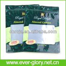 Smell And Moisture Proof Aluminum Foil Stand Cookies Bags