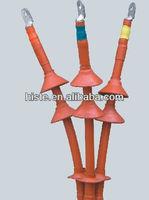 11kV 3-core heat shrinkable joint/shrinkable cable terminal kits