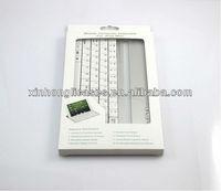 Mobile Bluetooth Keyboard Aluminium Case for iPad mini