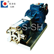 single butterfly curved particle rotor pump