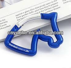 Horse Head-shaped Carabiner Keychain