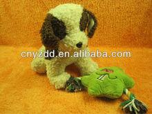 soft and stuffed animal plush toy dog/pet dog toy