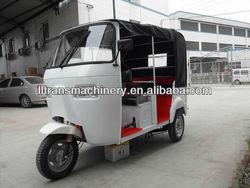150CC tuk tuk bajaj passenger tricycle