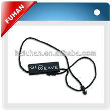 hang tag plastic name tag fastener string