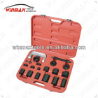 WINMAX 21 PC UNIVERSAL BALL JOINT SEPARATOR 4X4 MASTER ADAPTOR REMOVAL SERVICE KIT WT04011