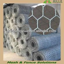 Galvanized hexagonal wire mesh dog fence