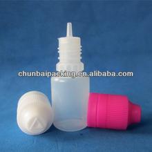 sterile food grad e liquid dropper bottle 20ml