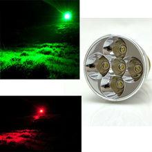 Cree red/green hunting gun light (red, green, white LED)