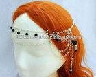 Moonlight Maiden Circlet Headpiece, Bridal Hair, Bridal Head Piece