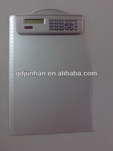 promotion 8 digit calculator with clip board