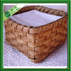 woven bamboo baskets wholesale as napkin holder