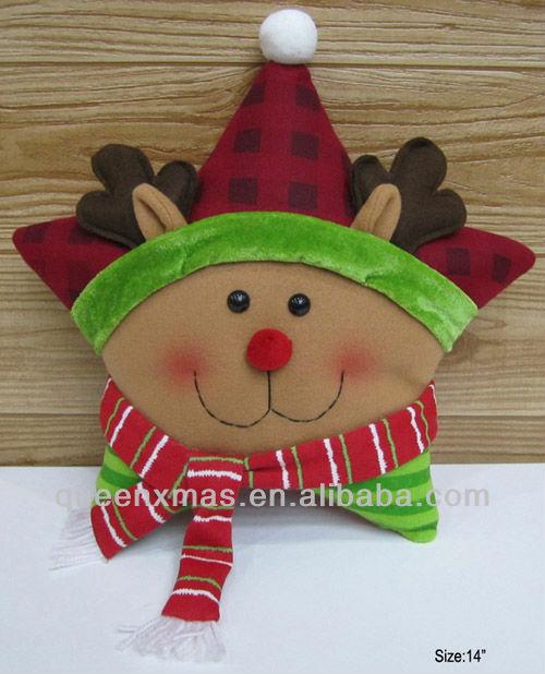 2013 santa navidad muñeco de nieve los patrones de renos cojín ...