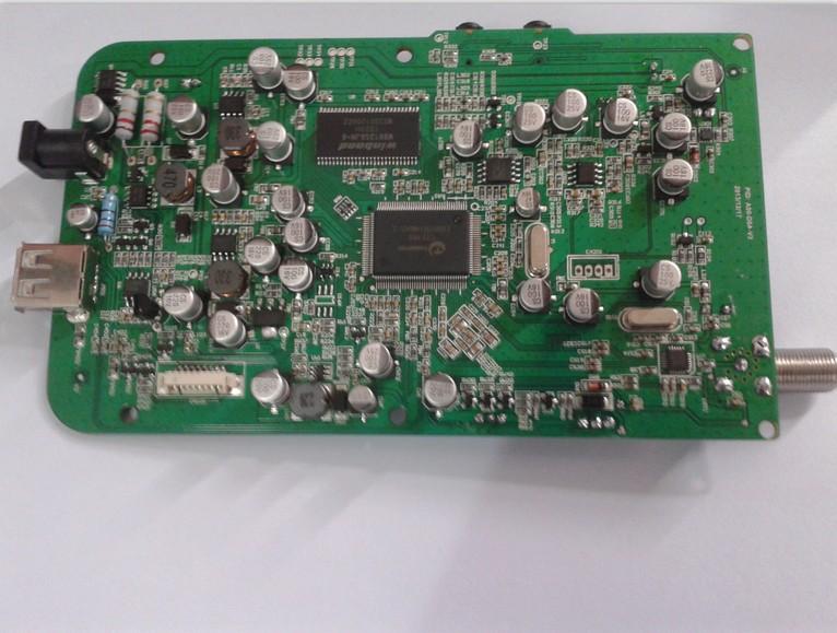F04777 Satlink EU Mainboard Circuit board For WS-6908 DVB-S FTA Digital Satellite Signal Finder  ...