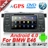 Newest 7 inch touch screen car radio gps for bmw e46 android