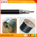 Iso9001 18 awg cca/ccs/coper desnudo cable coaxial de la funci&oacute;n
