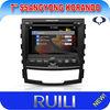 2 Din for SsanngYongKorando GPS DVD RDS Car Audio Refitting Frame