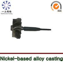 Nickel-base alloy castings used for jet ski engine