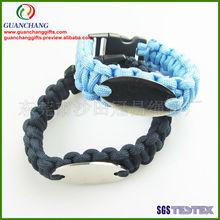 custom woven wristbands,polyester bracelet
