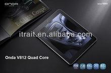 Onda V812 Quad Core 8 Inch Tablet Android 4.1.1 Allwinner A31 ARM Cortex A7,2G RAM,16GB ROM