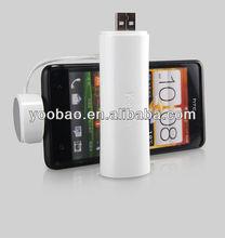 New Arrival! YOOBAO portable 2,600mAh Elfin Power Bank YB6103 for mobile phones, iPhone, iPad, cameras