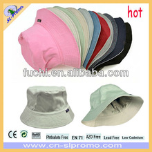 100% Cotton/Polyester Promotion Bob Hat With Custom Logo in Cheap Price of Various Colors
