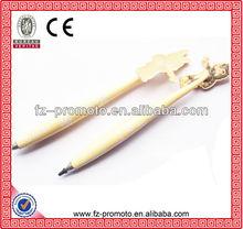 2013 cute pvc fridge magnetic pen follower pen