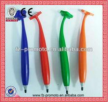 2013 cute silicon fridge magnetic pen follower pen