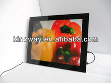 vga input to digital photo frame 17'' digital photo frame HD 1280*1050 perfect home/hotel decoration