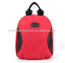 2013 College Wind popular European and American fashion new canvas shoulder bag female school bag hit the color package
