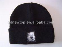 100% Acylic Beanie Knitted Winter Hat