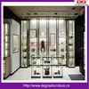 Luxury handbag shop design with freestanding bad display cabinet