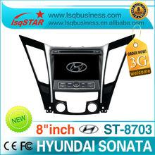 LSQ Star car audio player gps navi for HYUNDAI SONATA 2011 rds,iphone,radio ipod,dvd,sd,swc,usb 6disc pip 3g