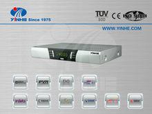 2013 HD digital tv set top box digital satellite receiver cable STB