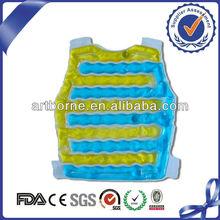 Artborne Reusable Classical Heating body compress gel pack for back 2013Natural Pain Relif Gel(CE&FDA&MSDS/OEM Service Offered)