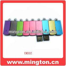 Crystal design mini usb pen drive wholesale