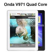 Onda V971 Quad Core Android 4.1 Retina 2048*1536p Tablet PC, Allwinner A31, 2GB RAM,16/32GB ROM