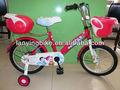 12''- 20''inchสีแดงที่มีภาพสุนัขการ์ตูนเด็กสาวbmx, จักรยานเด็กจักรยาน, วงจรเด็ก