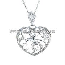 925 sterling silver gemstone pendants charms, milky way jewelry co ltd,CZ gemstone pendant