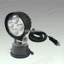 12w Mini outdoor portable led car lighting, auto tuning light 12v,4x4 off road driving light