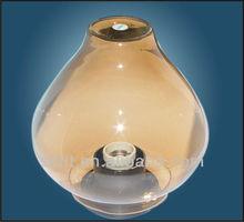 E27 PC/PMMA/Acrylic outdoor globe garden light globe fitting