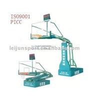 hydraulic basketball stand