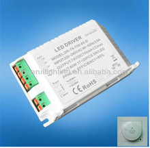 led lighting power supply Dimmable 70W with ETL/UL led driver for led indoor lighting constant voltage12/24V constant current
