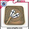 Antique gold sport medals trophies awards