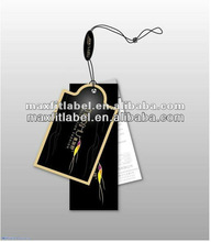fashion paper hang tags for jeans