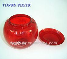 ball shape plastic shaker bottle 400ML