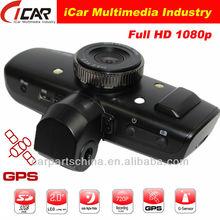 "GS1000 1.5""TFT LCD Gps G-sensor 1080P Full Hd Vehicle Mobile Digital Video Recorder"