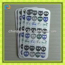 3d plastic phone sticker