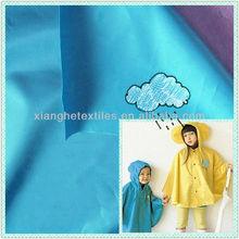 waterproof coated fabric raincoat